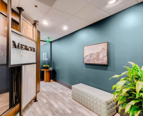 mercer advisors boulder entrance interior design