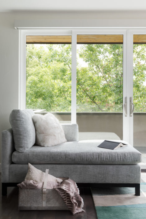 Contemporary Chaise Lounge By Window