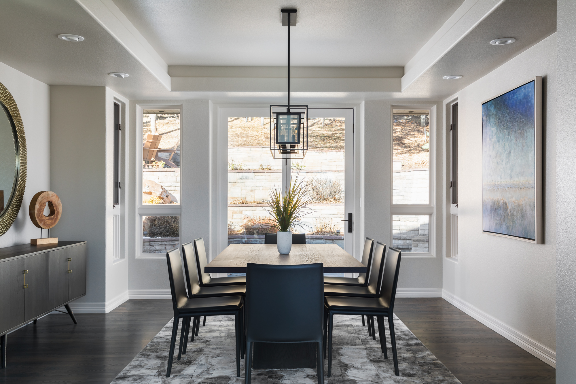 Linden Avenue dining room remodel